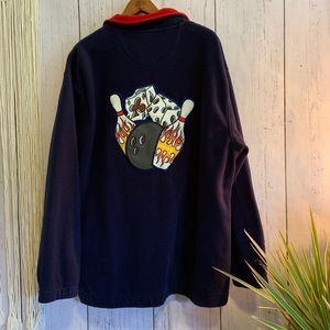 Vintage JNCO Jeans 1/4 Zip Fleece Pullover